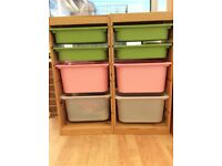 Ikea Storage combination with boxes TROFAST