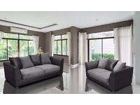 ****CHEAPEST PRICE IN THE U.K**** Brand New Byron 3 And 2 sofa or corner sofa in jumbo cord fabric