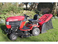 Westwood T1600H Ride on Tractor with Power Grass collector