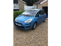 Citroen C4 Picasso Exclusive 1.6HDi EGS, 2008 (08), Blue, great spec, service history