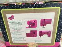 Rose & Butler Mini Pink Sewing Machine
