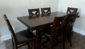 ADARA 7 PIECE DINING SET
