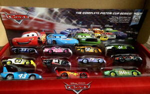 Disney Cars Piston Cup Gift Pack Mood Springs Tank Coat King NEW