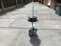 Coleman dual fuel lantern with case
