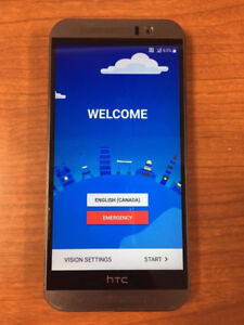 HTC ONE M9 32GB UNLOCKED GOOD CONDIOTION WITH CHARGER. 514-679-5