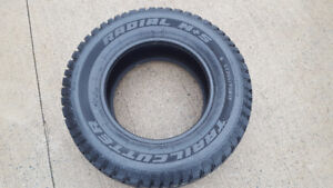 4 Trailcutter studded snow tires 265/70/17