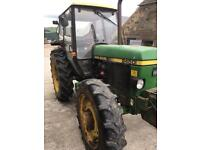 John Deere 2450 mc1 NO VAT