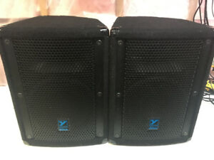 Yorkville E10P Self Powered, Active Speakers. 650W