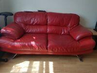 Sofa with some wear a d tesr