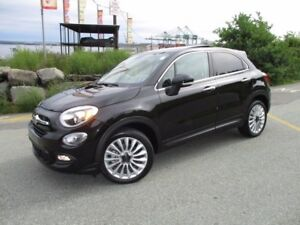 2016 Fiat 500 X LOUNGE (PANORAMIC ROOF, LEATHER, REVERSE CAM, HE