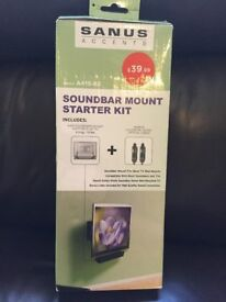 Sanus Soundbar Mount Starter Kit Model A415-B2 - BNIB - fully sealed