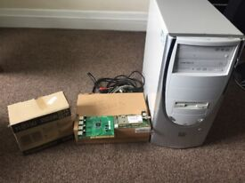 PC with Speakers and Extras