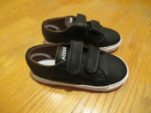 Brand New Toddler Lacoste Shoes - Size 7.5 (Boys)