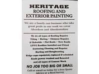 Heritage roofing and exterior painting