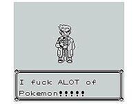 Pokémon cock version