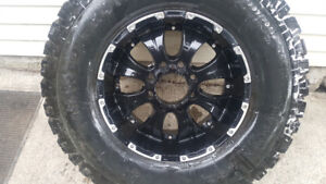 Dodge 8 bolt rims tires and lug nuts