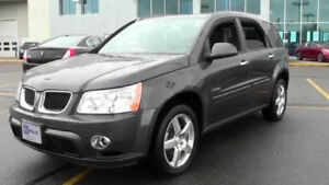 2008 Pontiac Torrent GXP EDITION SPORT PKG-AWD-LEATHER-SUNROOF