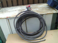 air line for use with spray gun