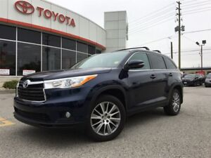 2015 Toyota Highlander XLE AWD 8-PASS, LEATHER, NAV, MOONROOF, B