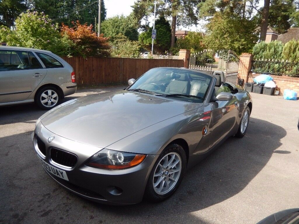 BMW Z4 2.5 i Roadster 2dr 2003 (03 reg), Convertible