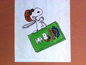 PEANUTS,SNOOPY-SunPac-Licensee-Advertising/Product Launch-RARE