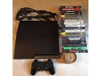 Sony PlayStation 3 160gb Slim Bundle