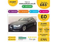 Audi A6 Saloon S Line FROM £83 PER WEEK!