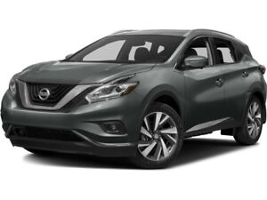 2017 Nissan Murano SL AWD! CVT! LEATHER!