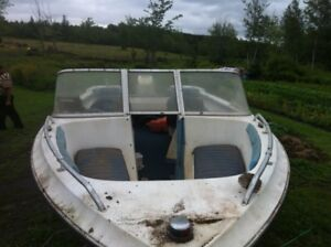16ft 70 horse johnson outboard