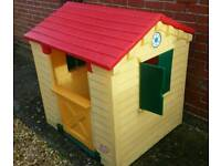 Little tykes play house