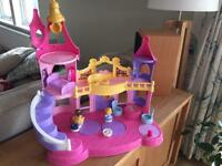 Fisher-Price - Little People Disney Princess Musical Dancing Palace (as new condition)