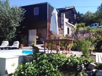 france sun and ski renovated stone house with pool