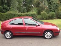 RENAULT MEGANE 1.6 FIDJI 2002 8 MONTHS MOT AND SERVICE HISTORY-LOW MILEAGE VERY CLEAN CAR