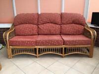 Conservatory Three Seater Sofa