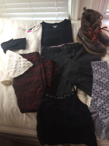 Girls' Lot for Fall/Winter Size 10-12