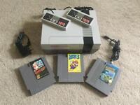 Original Nintendo 2 Controllers 3 Great Games