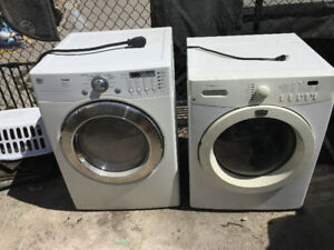 Laundry Pair must Pick up Quick for only $160