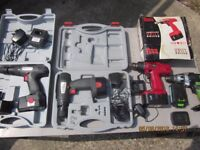 clear out of drills grab a bargain!