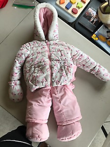 Baby Girl Snow Suit