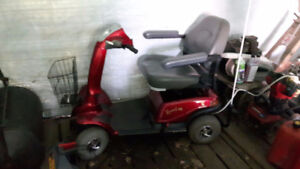 Rascal 600 mobility scooter, also 2 12 volt utility batteries