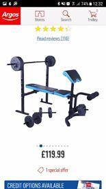 Argos- weights bench