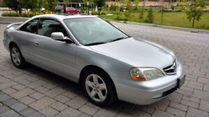 2001 Acura CL Leather Coupe (2 door)