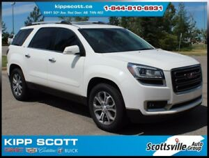 2013 GMC Acadia SLT1 AWD, Leather, Dual Moonroof, Trailering