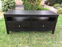 TV stand Hemnes Ikea black