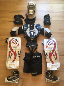 EQUIPEMENT GARDIEN DE BUT JUNIOR / GOALIE SET