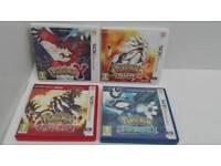 Pokemon 3DS Games Bundle