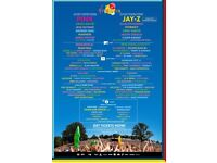 Red camping weekend V festival ticket