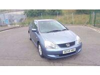 Diesel 2004 Honda Civic SE 1.7 CTDI 9 Month MOT 106000 Miles Only...