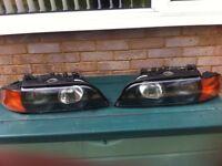BMW e39 headlamps