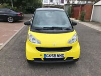 2008 Smart Fortwo 1.0 Pure 2dr 1 Owner From New @07445775115
